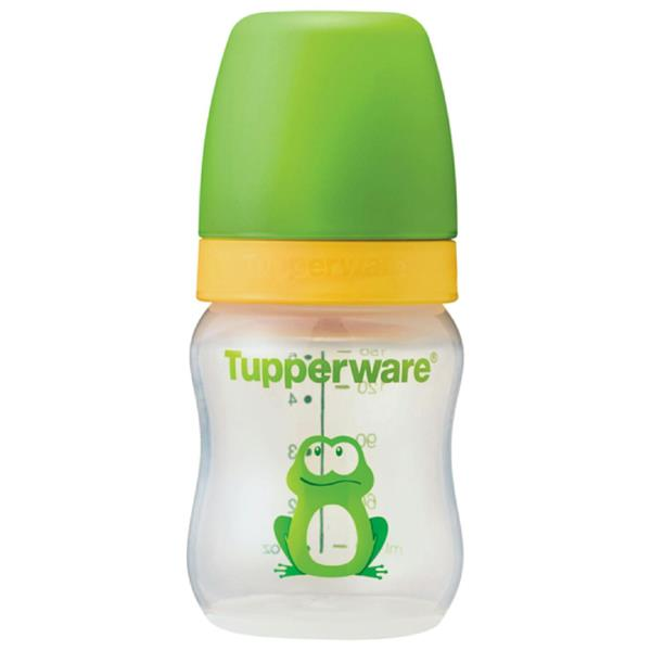 Tupperware Baby Bottle Frog with Teat (1) 5oz