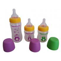 Tupperware Baby Bottle Penguin with Teat (Set of 3)