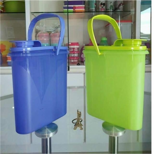 Tupperware Beverage Buddy 2.0L (1) green / purple
