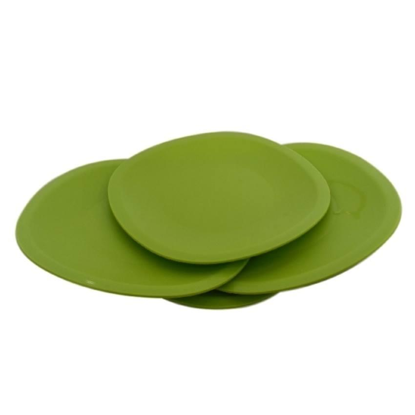 Tupperware Blossom Microwaveable Dining Plates ( Set of 4 )