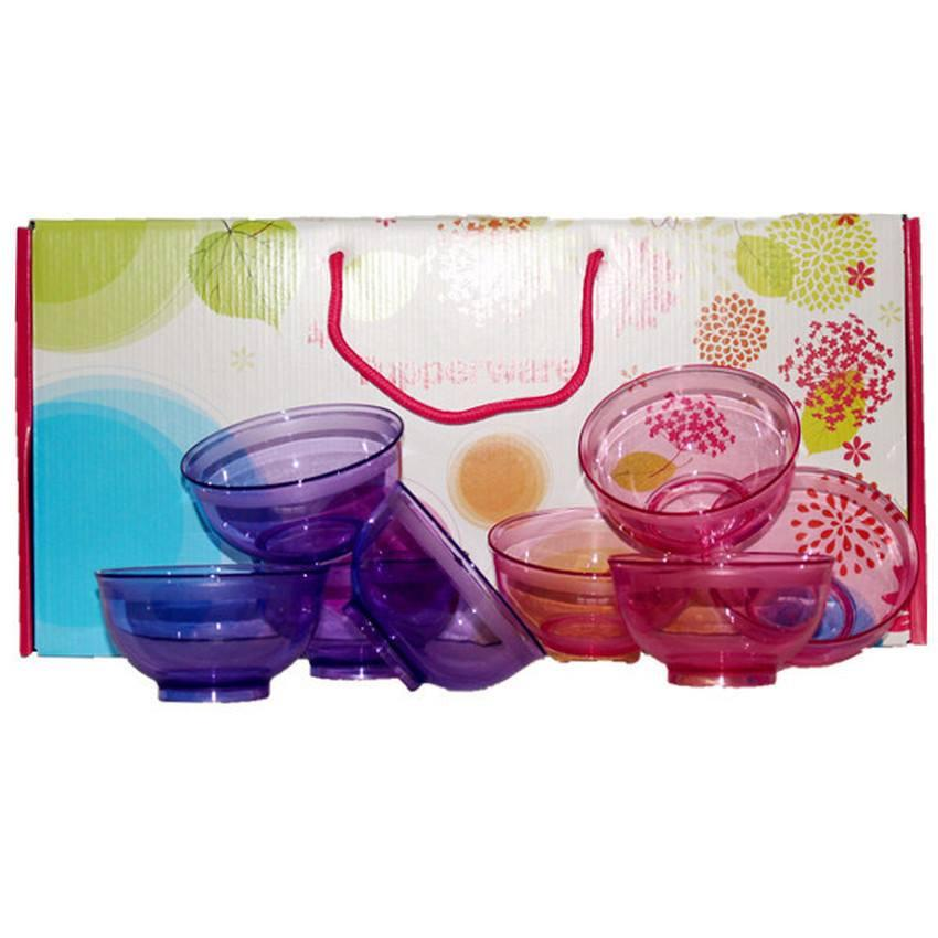Tupperware Crystal Bowl (8) With Gift Box