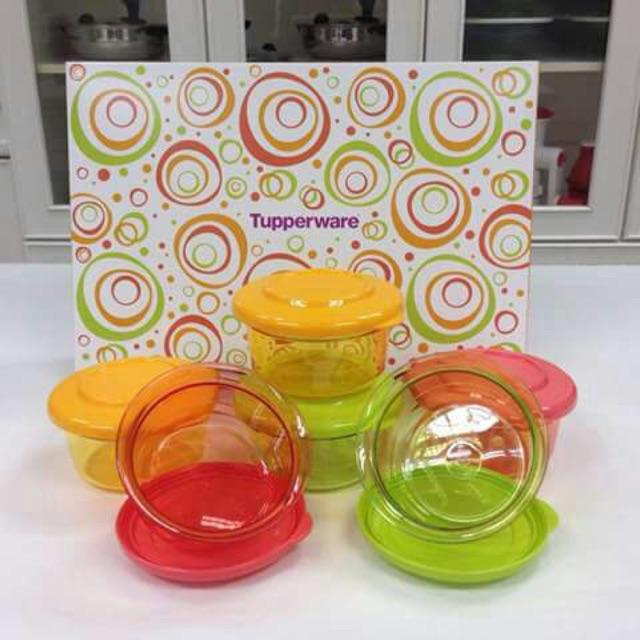 Tupperware Crystal Candy Set (6) pcs