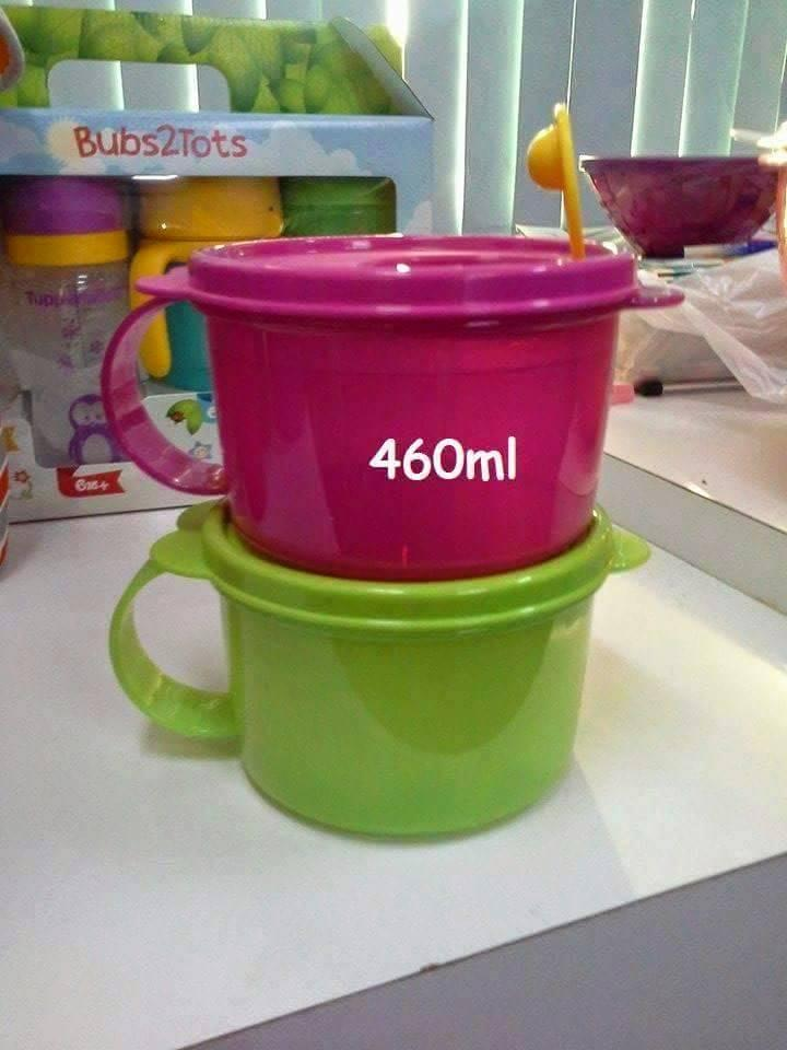 Tupperware Crystalwave Soup Mug 460ml (1)