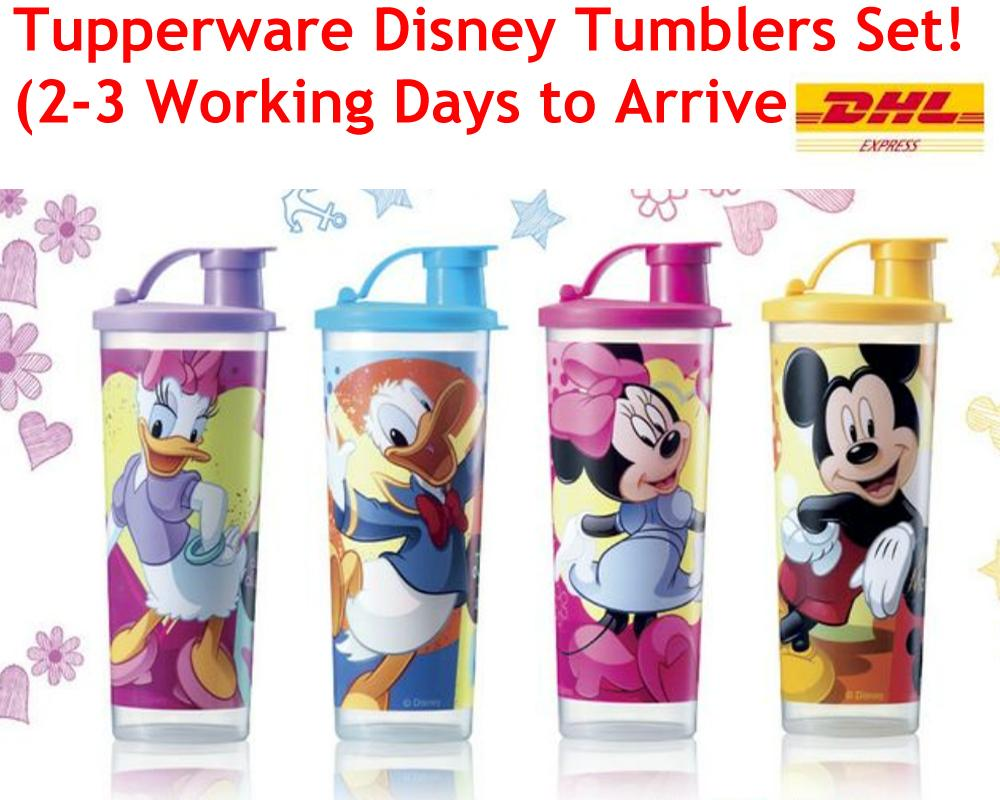 TUPPERWARE Disney Mickey Collection Kids Tumblers