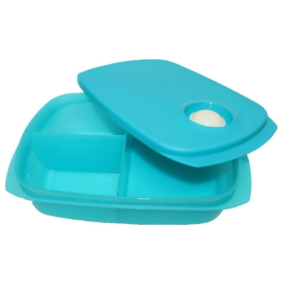 Tupperware Divided Lunch Box 1L (1)