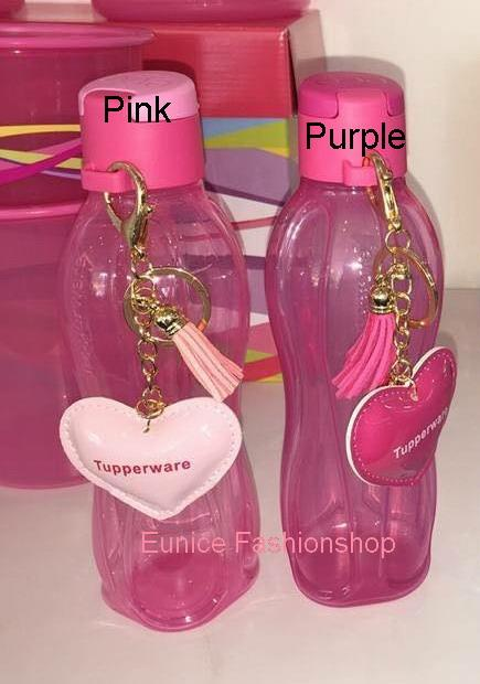 Tupperware Eco Bottle 500ml Flip Top With Charm (1)