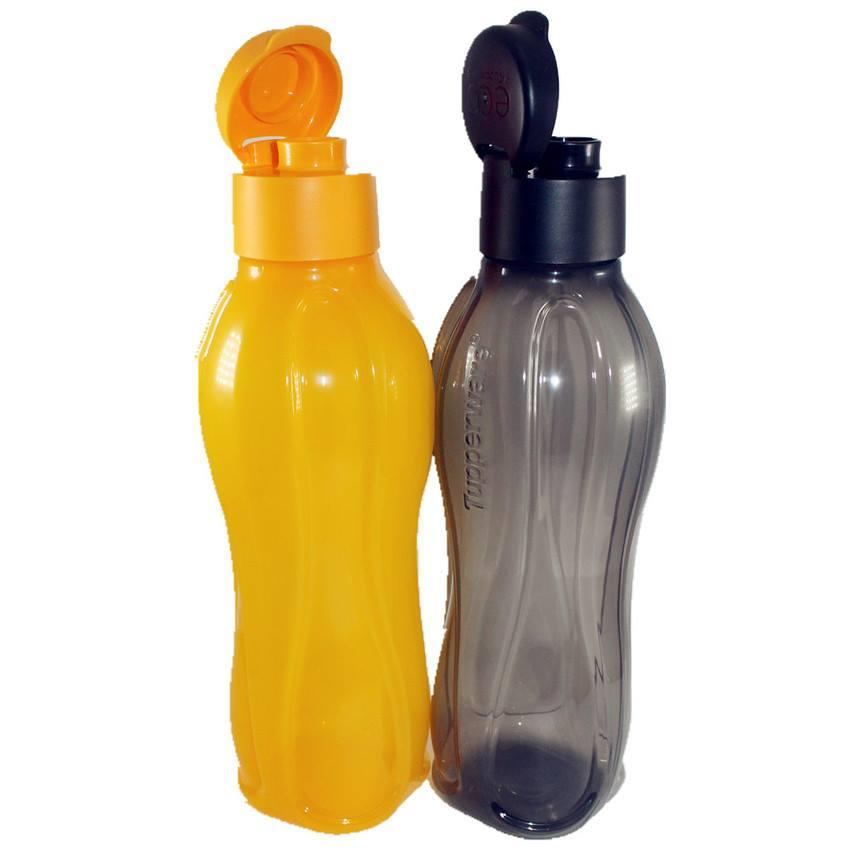 Tupperware Eco Bottle Flip Top (2) 1L