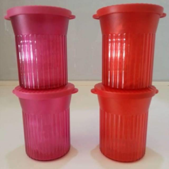 Tupperware Elegant Small Round (1) 200ml - Random color send