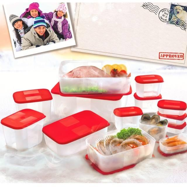 Tupperware FreezerMate Set ( 6 free 8 pcs)