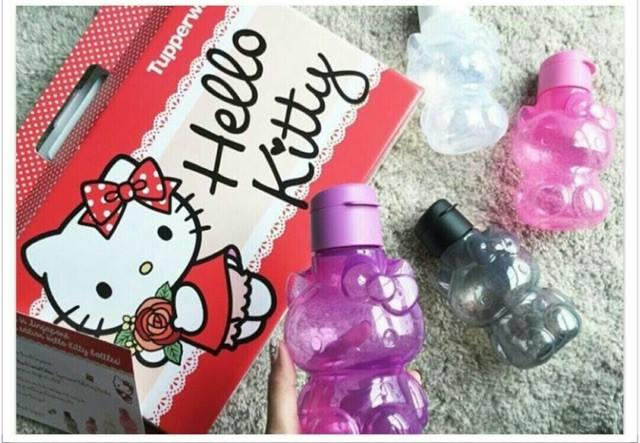 Tupperware Hello Kitty Eco Bottle 425ml (1)