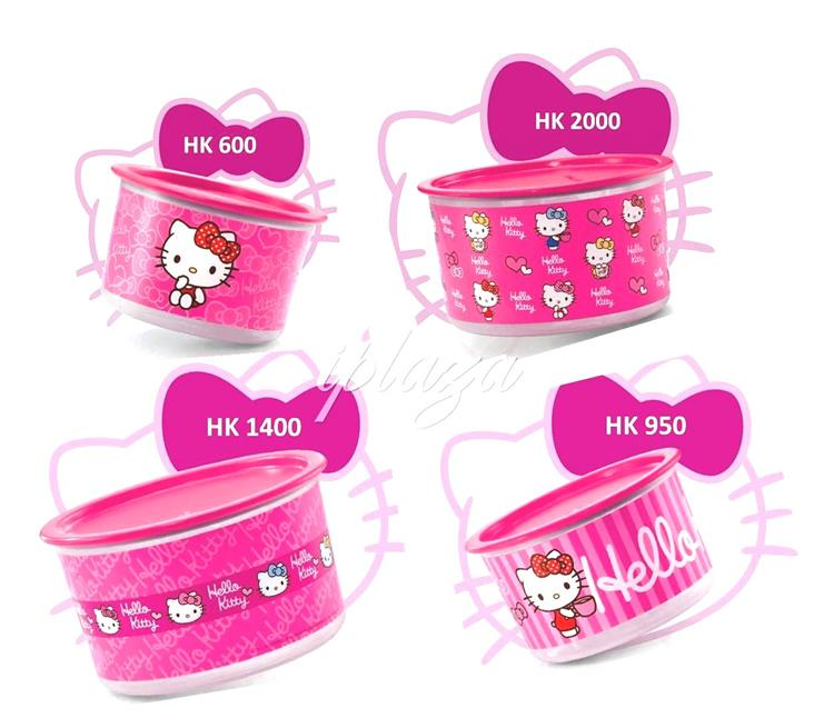 Tupperware Hello Kitty Set (4)