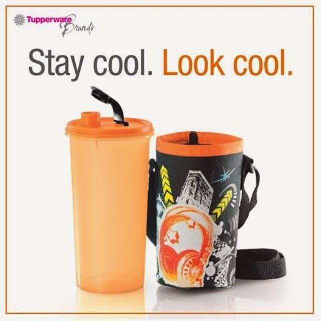 Tupperware Hipster Pop High Handolier with Pouch (1) 1.5L