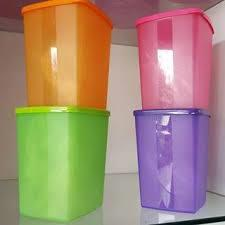Tupperware Limited Edition Cool Square Round (4) 1.4L