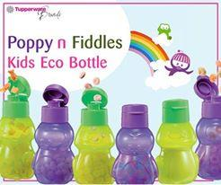 Tupperware Limited Frog and Penguin Kids Eco Bottle (1) 350ml