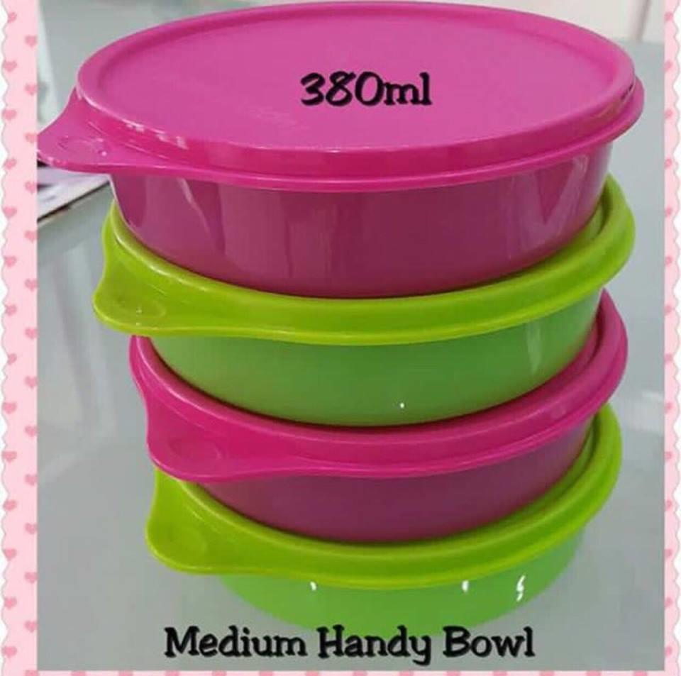 Tupperware Medium Handy Bowl (4) 380ml