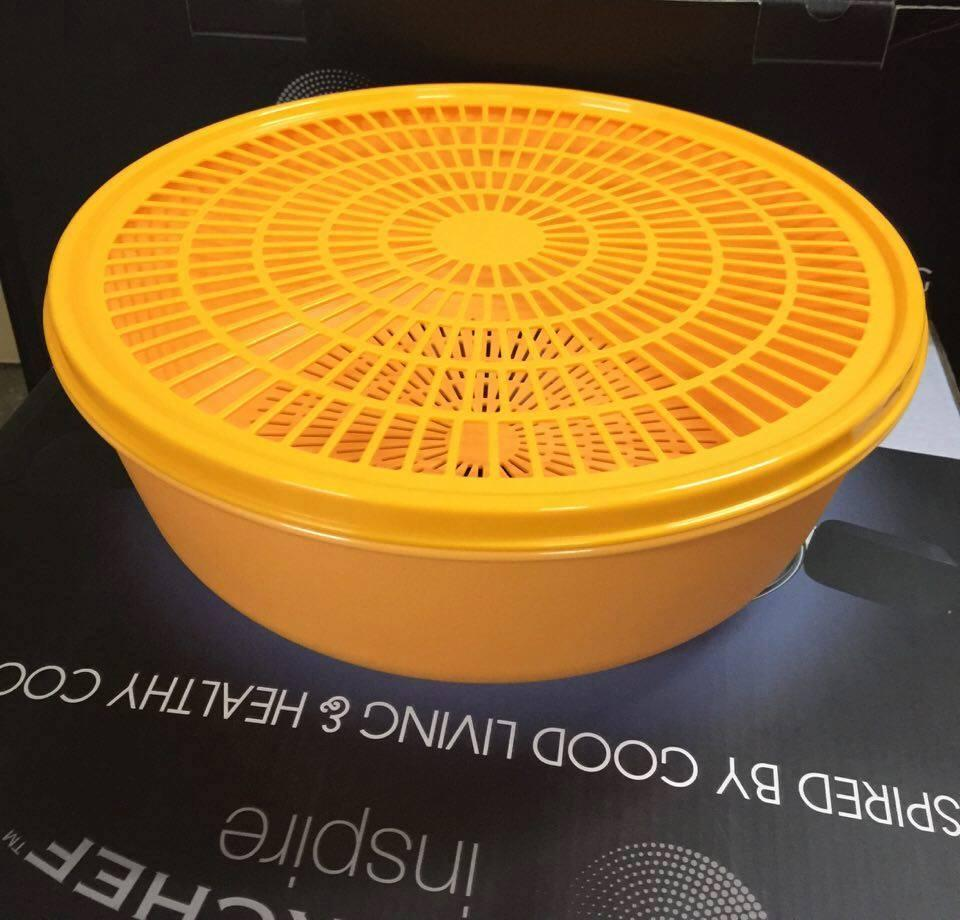 Tupperware Modular Colander 4.0L (1) Orange
