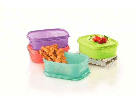Tupperware Modular Mates Mini Rectangular I (4) 850ml