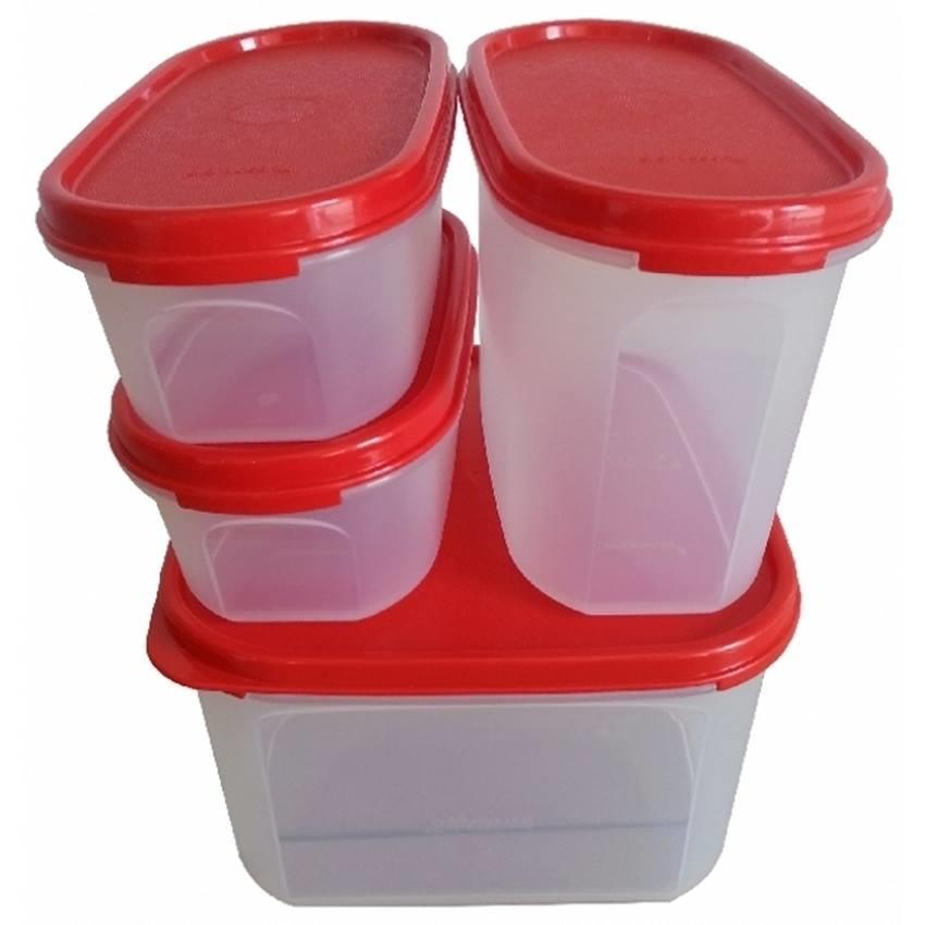 Tupperware Modular Mates Starter Set - Red Chili