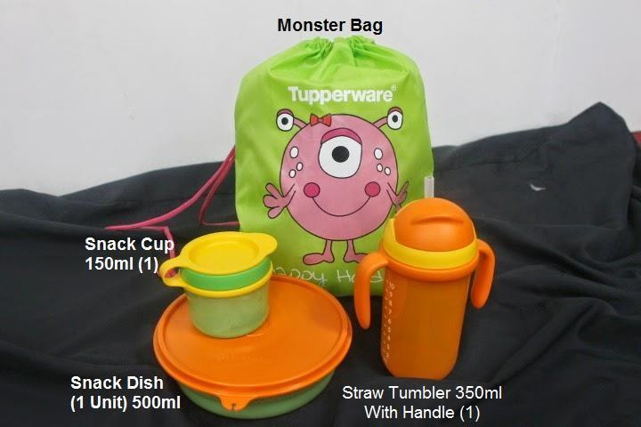 Tupperware Monster Munchies Product (kid Product)