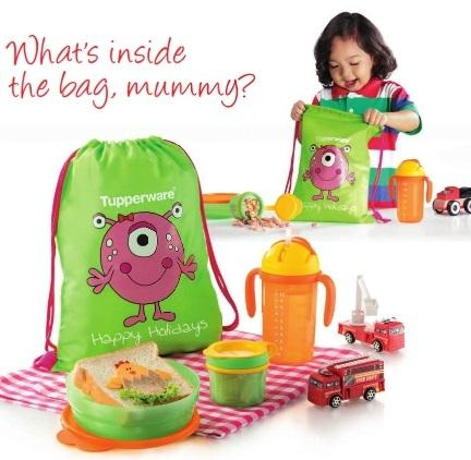 Tupperware Monster Munchies Set (kid Set)