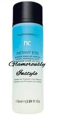 Tupperware - Nutrimetics - Instant Eye Make-Up Remover 115ML (2 Bottle..