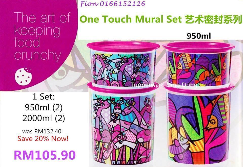 Tupperware one touch mural set end 7 20 2015 10 15 pm for Mural 1 malaysia negaraku