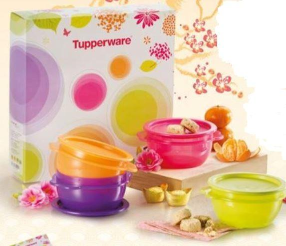 Tupperware One Touch Prosperity (1) / 4pcs Set - 500ml