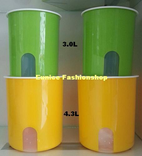 Tupperware One Touch Window Canister 4.3L