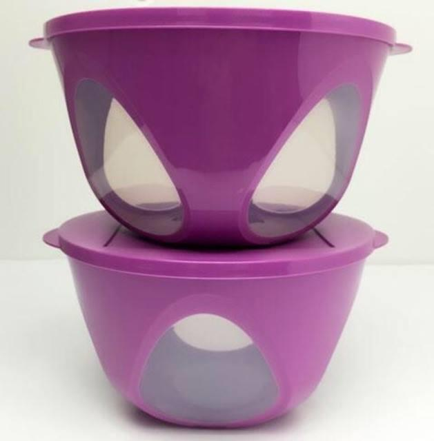 Tupperware Outdoor Bowl 4.3L (1) Purple