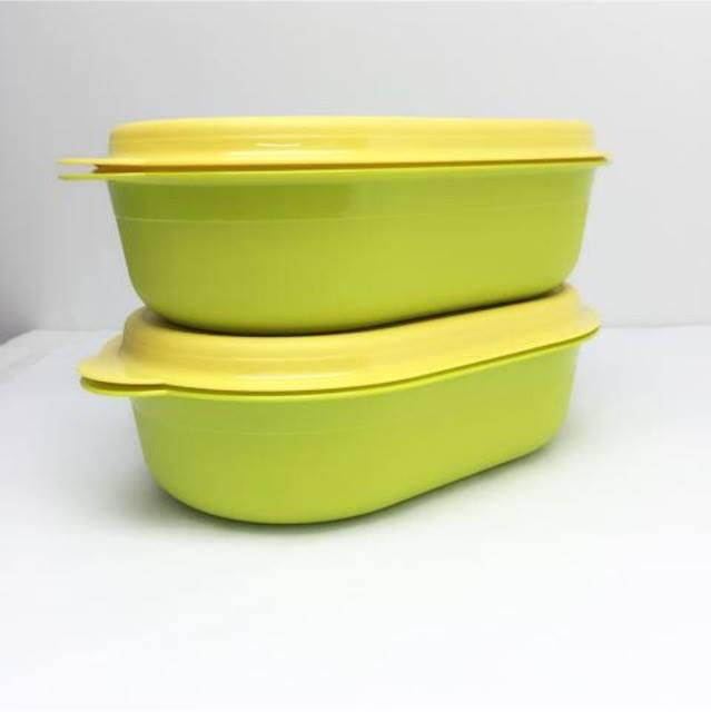 Tupperware Oval Server 4.0L (1) Green