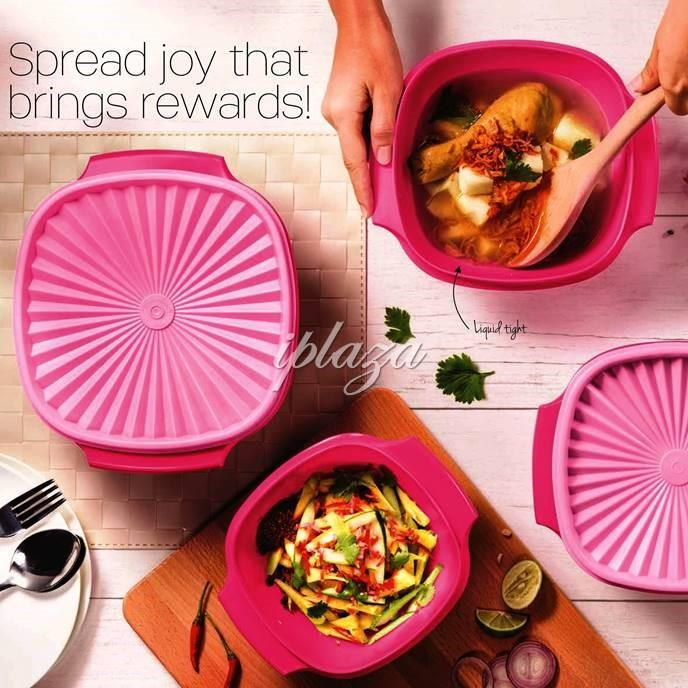 Tupperware Pink Ruby Set (3)