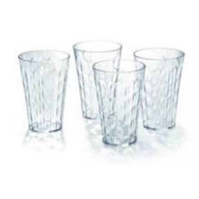 Tupperware Prism Tumbler (4) 475ml