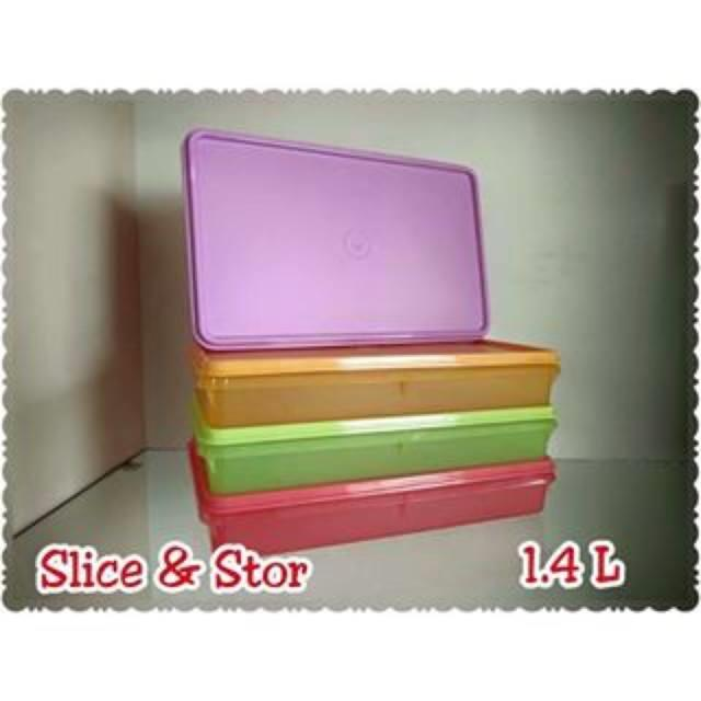 Tupperware Slice n store (1) 1.4L with pick (1)