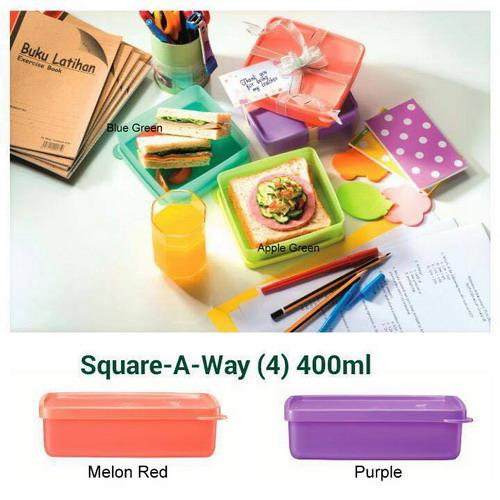 Tupperware Square A-Way 400ml (1)
