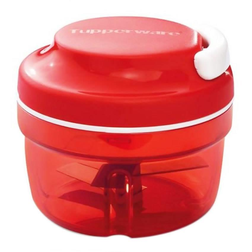 Tupperware Turbo Chopper (1) 300ml - Red