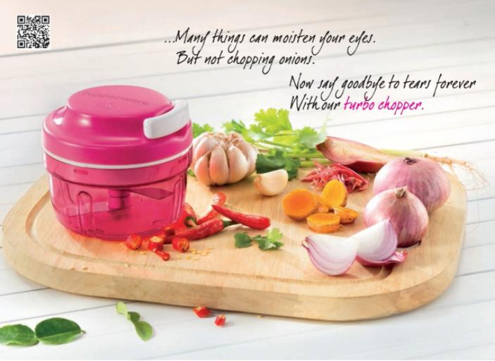 Tupperware Turbo Chopper with Gift Box 300ml