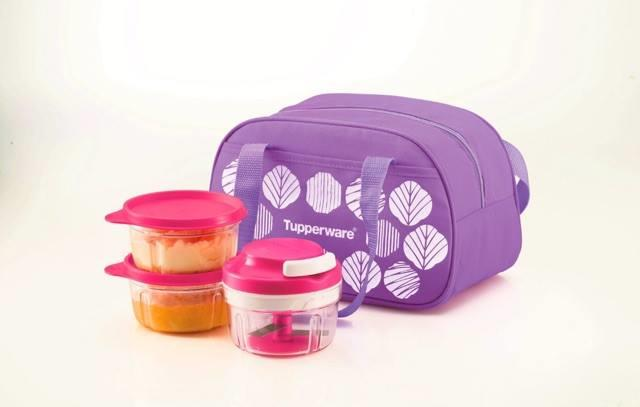 Tupperware Turbo Chopper Set (full set with bag)