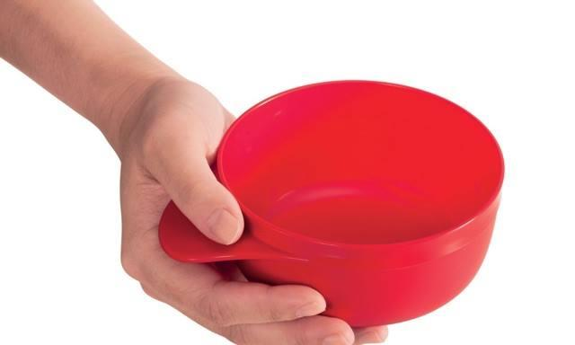 Tupperware Twinkle Easy Grid Bowl & Spoon (1) 240ml