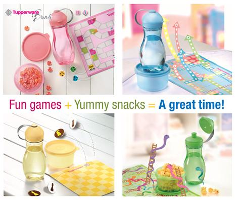 Tupperware Yummy Snack Set