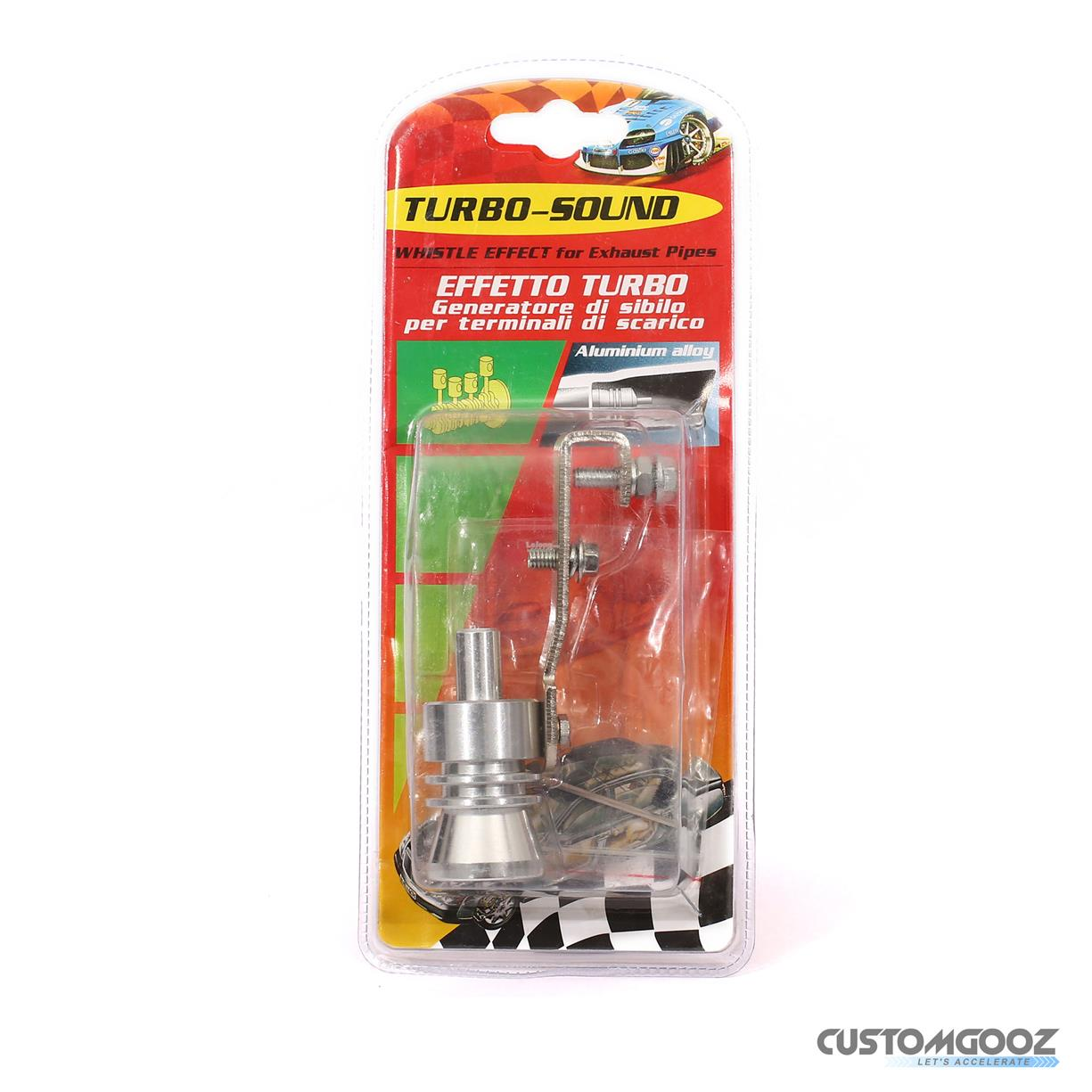Turbo Sound Whistle Effect for Exhaust Pipes(SOLD OUT)