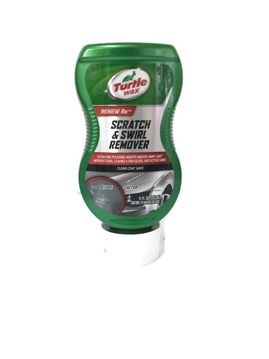 turtle wax scratch and swirl remover instructions