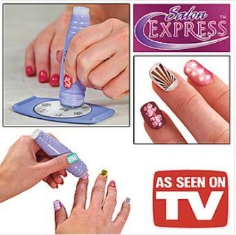 As Seen As On TV~Nail Art Stamping Kit