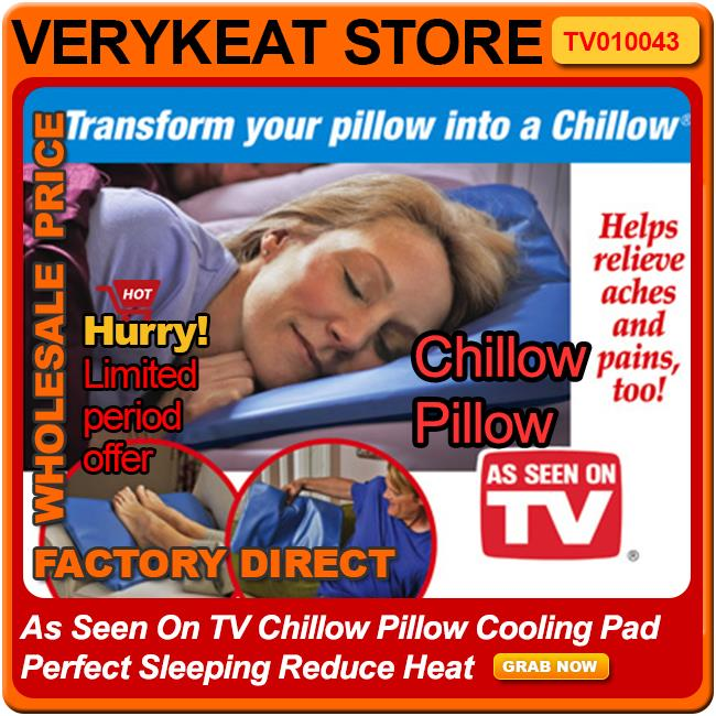 As Seen On TV Chillow Pillow Cooling (end 4/7/2018 2:59 PM)