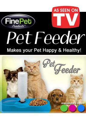 As Seen On TV~ FinePet Pet Feeder