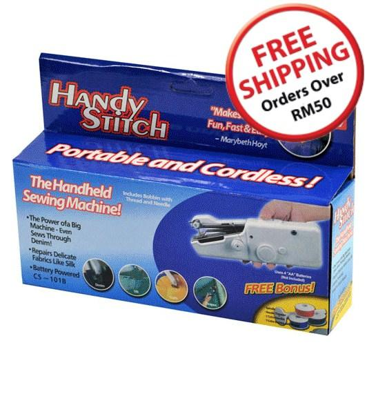 As Seen On TV~ Handy Stitch Handheld Sewing Machine~14723