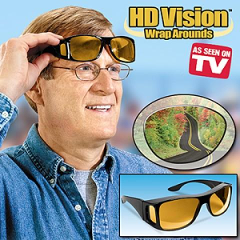 As Seen on TV~ HD Vision Wrap Arounds Sunglasses