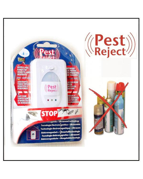 As Seen On TV~ Pest Reject Ultrasound Pest Repellent