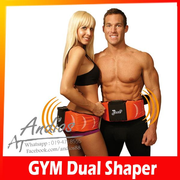 As Seen On TV Slimming Belt GYM form Dual Shaper Massager Fitness