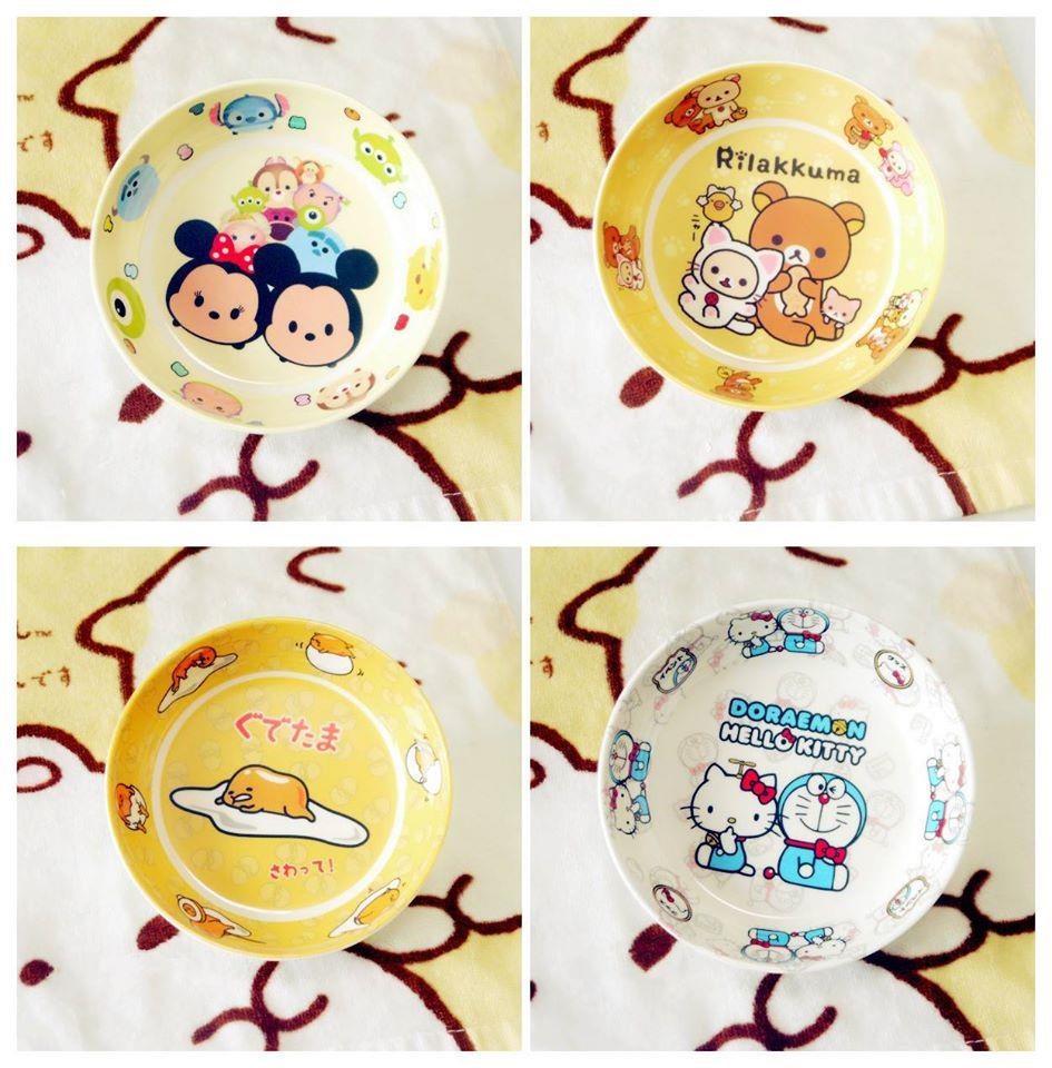TW0191 ICONIC CARTOON ROUND PLATE