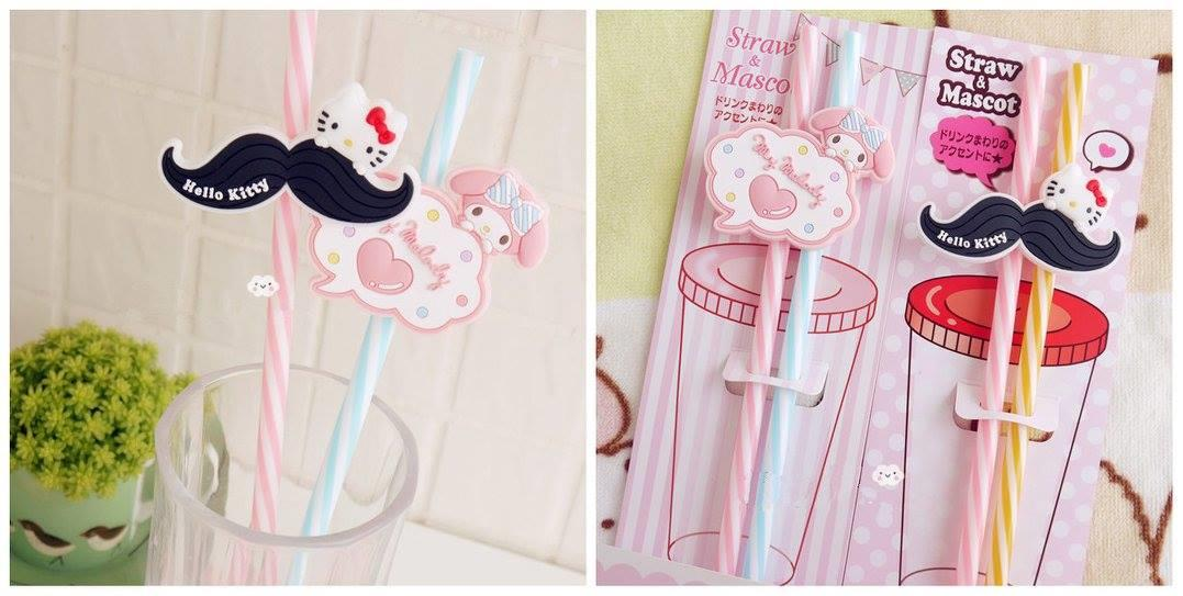 TW0215 ICONIC CARTOON STRAW